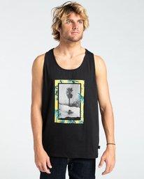 Painted Palms - Vest for Men  W1SG09BIP1