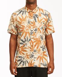 Adventure Division Kern Hemp - Short Sleeve Shirt for Men  W1SH08BIP1
