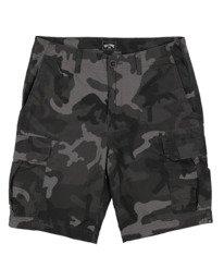 """Scheme Cargo Camo 21"""" - Cargo Shorts for Men  W1WK51BIP1"""
