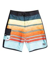 """73 Stripe Pro 19"""" - Board Shorts for Boys  W2BS08BIP1"""
