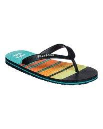 Tides Print - Flip Flops for Boys  W2FF02BIP1