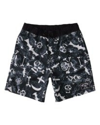 "Bad Billy Layback 16"" - Swim Shorts for Boys  W2LB10BIP1"