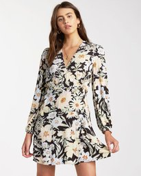 Lotta Love - Mini Wrap Dress for Women  W3DR36BIP1
