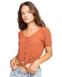 Lovely - Short Sleeve Knit Top for Women  W3KT15BIP1