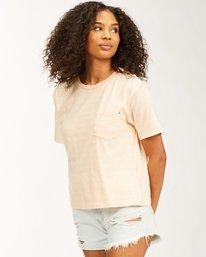 Beach Stripes - Boyfriend T-Shirt for Women  W3KT40BIP1