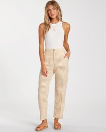 Checkmate - High Waisted Trousers for Women  W3PT20BIP1