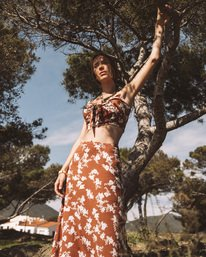 Wild And Free - Midi Skirt for Women  W3SK05BIP1