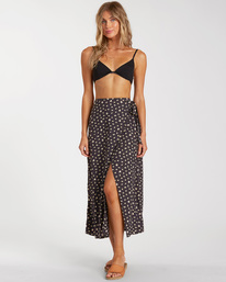 Ocean Air - Wrap Midi Skirt for Women  W3SK06BIP1