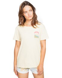 Rays Of Sun - Boyfriend T-Shirt for Women  W3SS20BIP1