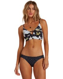 Beyond The Palms V-Neck Cami - Reversible Bikini Top for Women  W3ST17BIP1