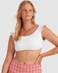 Sand Dunes - Cropped Bikini Top for Women  W3ST92BIP1