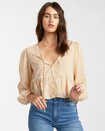 After Dark - Long Sleeve Blouse for Women  W3TP05BIP1