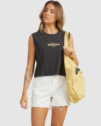G'Day Gold Coast - Cropped Tank Top for Women  W3TT21BIP1