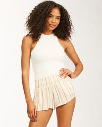 Waves All Day - Viscose Shorts for Women  W3WK24BIP1