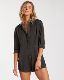 Gigi - Long Sleeve Playsuit for Women  W3WK25BIP1