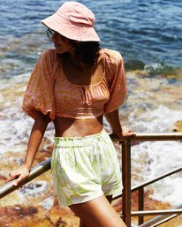 Sun Drenched - High Waisted Shorts for Women  W3WK31BIP1