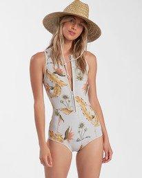 Surf Capsule Sol Sistah - Sleeveless Springsuit for Women  W42G52BIP1