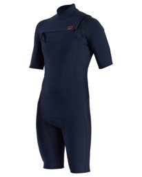 2/2mm Absolute - Chest Zip Springsuit for Men  W42M71BIP1