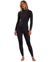Synergy - 3/2mm Chest Zip Wetsuit for Women  W43G51BIP1
