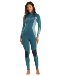 Synergy - 3/2mm Back Zip Wetsuit for Women  W43G52BIP1