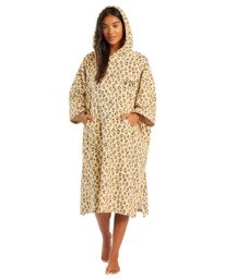 Hoodie - Surf Poncho for Women  W4BR70BIP1