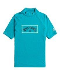 Unity - Short Sleeve UPF 50 Rash Vest for Boys  W4KY14BIP1