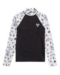 Swim - Long Sleeve UPF 50 Rash Vest for Girls 8-16  W4KY16BIP1