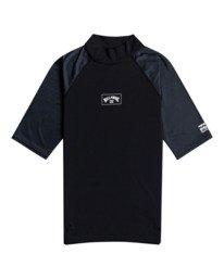 Contrast - Short Sleeve UPF 50 Rash Vest for Men  W4MY09BIP1