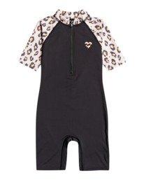 Billie Logo Combi - Short Sleeve UPF 50 Rash Vest for Toddlers  W4TY03BIP1