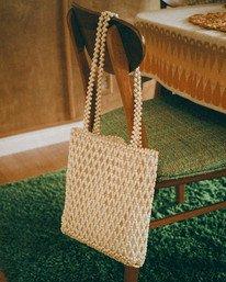 Salty Blonde Strung Together - Hand Bag for Women  W9BG10BIP1