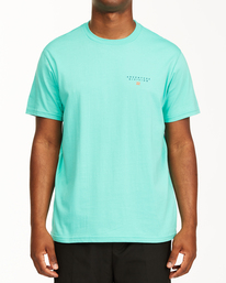 Adventure Division Lines - Organic T-Shirt for Men  X1SS06BIS1