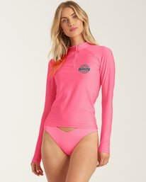 Sol Searcher - Recycled Long Sleeve UPF 50 One-Piece Swimsuit for Women  X3GY01BIS1