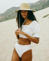 Summer Girl - Puff Sleeve Top for Women  X3KT21BIS1