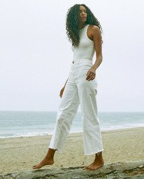 Free Fall - Wide Leg Trousers for Women  X3PT04BIS1