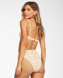 Pretty In Plaid High Maui - Recycled Bikini Bottoms for Women  X3SB18BIS1