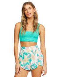 Cool Down - Elasticated Shorts for Women  X3WK05BIS1