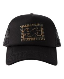 Crayon Wave - Trucker Cap for Men  X5CT01BIS1
