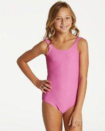 22753e49b14 LINE UP ONE PIECE Y103VBLI. Girls' Line Up One Piece Swim
