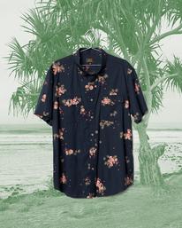 Wrangler Rose Garden - Short Sleeve Shirt for Men  Z1SH27BIF1