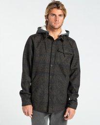 Furnace Bonded - Water Repellent Hooded Flannel Shirt for Men  Z1SH28BIF1
