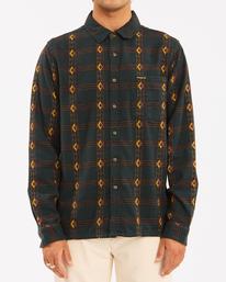 Wrangler Knox Jacquard - Flannel Shirt for Men  Z1SH35BIF1