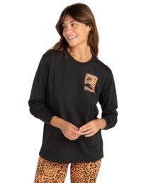 Bliss Stars - Long Sleeve T-Shirt for Women  Z3LS09BIF1