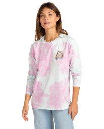 Psyched Arch Tie-Dye - Long Sleeve T-Shirt for Women  Z3LS12BIF1