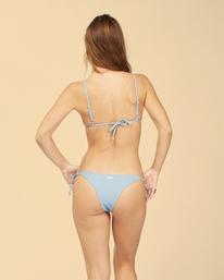 Wrangler Down With Denim Tie Side Isla - Super-Skimpy Coverage Bikini Bottoms for Women  Z3SB01BIF1