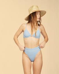 Wrangler Down With Denim - Underwire Bikini Top for Women  Z3ST02BIF1