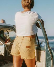 Wrangler Showdown - High Waisted Denim Shorts for Women  Z3WK04BIF1