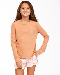 Sunny Palm - Long Sleeve T-Shirt for Teen Girls  Z8LS01BIF1