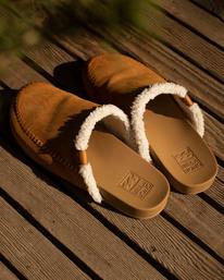 Cape Town - Faux Leather Slip-On Shoes for Women  Z9FF03BIF1