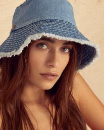 Wrangler Hats Off - Denim Bucket Hat for Women  Z9HT02BIF1