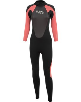 3/2mm Launch - Long Sleeves Steamer Wetsuit for Women  043G01BIPP